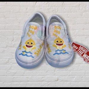 Baby shark customize van shoes